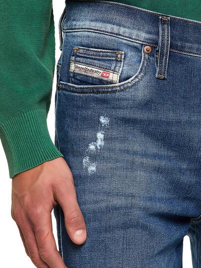 Diesel - D-Istort Skinny Jeans 009PU, Medium Blue - Jeans - Image 3