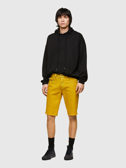 Diesel - D-STRUKT-SHORT-SP, Yellow - Shorts - Image 5