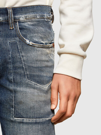 Diesel - D-Strukt Slim Jeans 009TX, Dark Blue - Jeans - Image 6