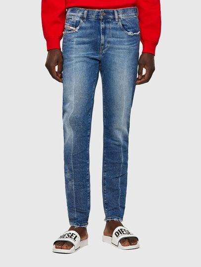 Diesel - D-Strukt Slim Jeans 09A26, Medium Blue - Jeans - Image 1