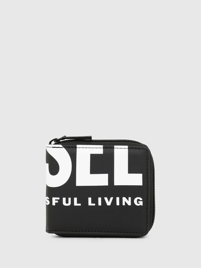 Diesel - ZIPPY HIRESH S II, Black - Small Wallets - Image 1