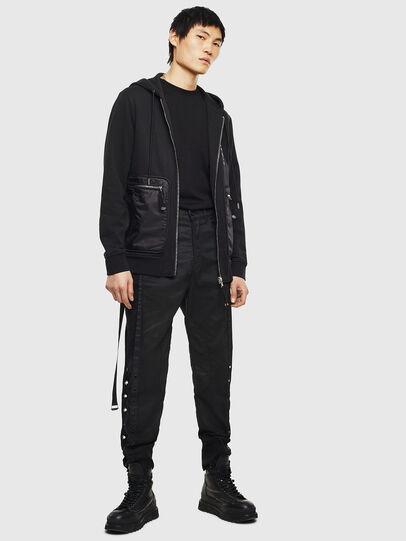 Diesel - S-SKRA, Black - Sweatshirts - Image 7