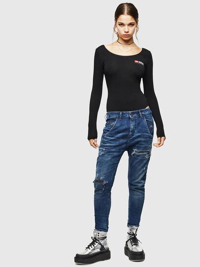 Diesel - Fayza JoggJeans 069JE, Dark Blue - Jeans - Image 5