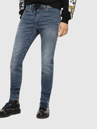 Diesel - Thommer JoggJeans 069BB, Medium Blue - Jeans - Image 1