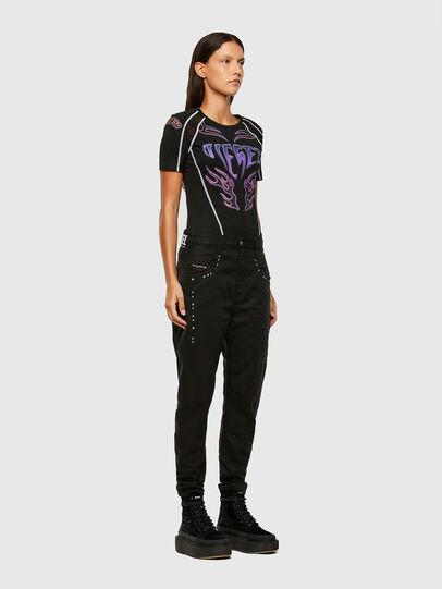 Diesel - Fayza JoggJeans® 069NC, Negro/Gris oscuro - Vaqueros - Image 6