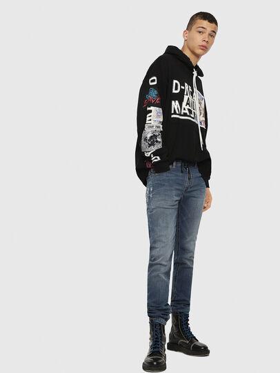 Diesel - Thommer JoggJeans 069BB, Medium Blue - Jeans - Image 4