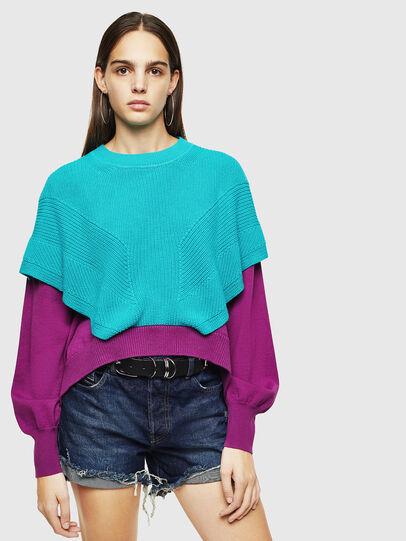 Diesel - M-NEXY, Multicolor - Sweaters - Image 1