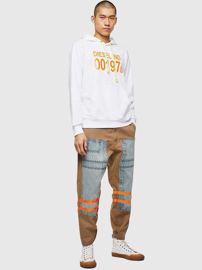 Diesel - S-GIRK-HOOD, White - Sweatshirts - Image 4