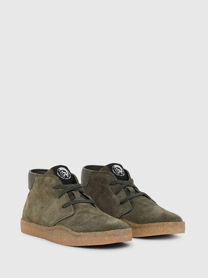 Diesel - H-CLEVER PAR DESERT, Green - Sneakers - Image 2