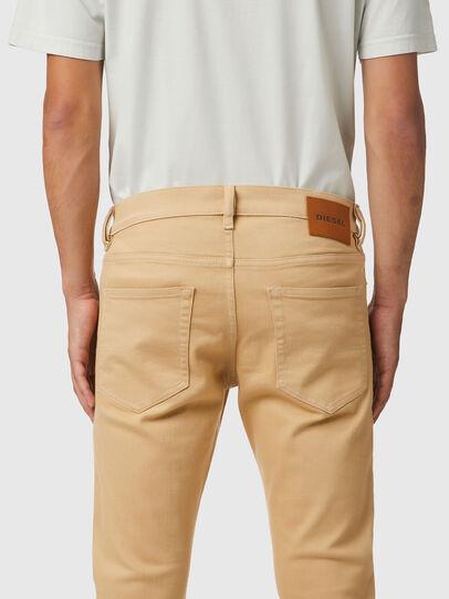 Diesel - D-Luster Slim Jeans 009HA, Light Brown - Jeans - Image 4
