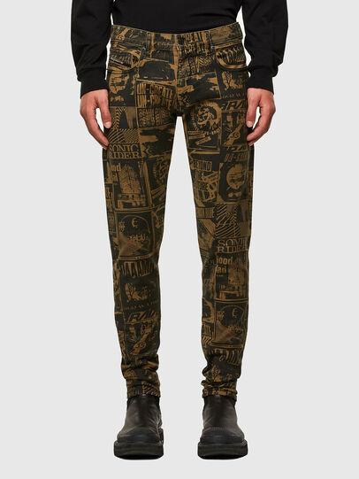 Diesel - D-Strukt Slim Jeans 009GB, Brown - Jeans - Image 1
