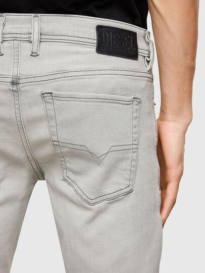 Diesel - Sleenker Skinny Jeans 009PY, Light Grey - Jeans - Image 4