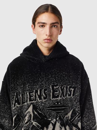 Diesel - S-UMMER-TEDDY, Black - Sweatshirts - Image 3