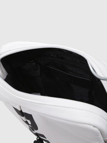 Diesel - F-BOLD SMALL CROSS, White - Crossbody Bags - Image 3