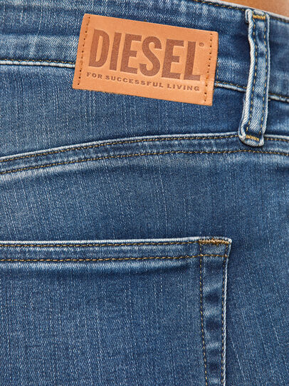 Diesel - Slandy Skinny Jeans 084NM, Medium Blue - Jeans - Image 5