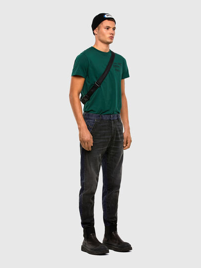 Diesel - D-Slack 009KZ, Black/Dark Grey - Jeans - Image 6