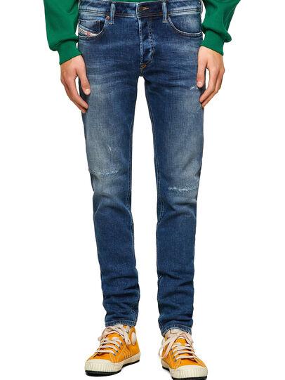 Diesel - Sleenker Skinny Jeans 009PN, Medium Blue - Jeans - Image 1