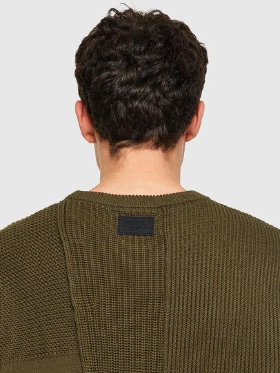Diesel - K-YUKON, Military Green - Sweaters - Image 3