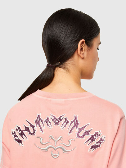 Diesel - T-DARIA-A3, Pink - T-Shirts - Image 3