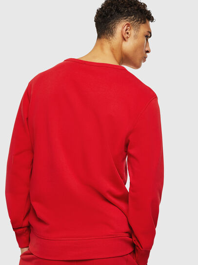 Diesel - UMLT-WILLY, Red - Sweatshirts - Image 2