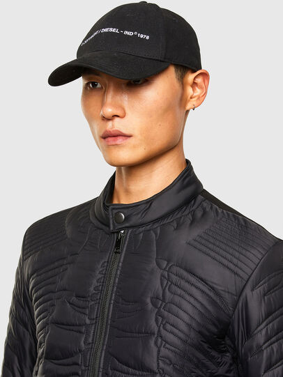 Diesel - W-SHARK, Black - Winter Jackets - Image 3