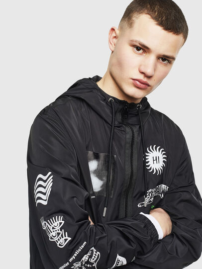 Diesel - J-HEAD, Black - Jackets - Image 5