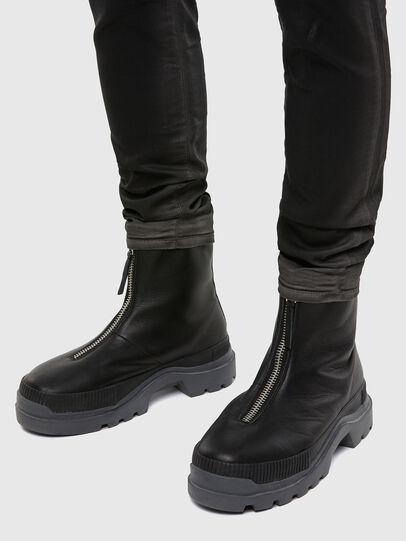 Diesel - D-Strukt JoggJeans® 069QX, Black/Dark Grey - Jeans - Image 5