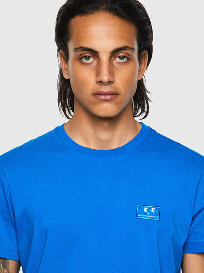 Diesel - T-DIEGOS-E2, Blue - T-Shirts - Image 3