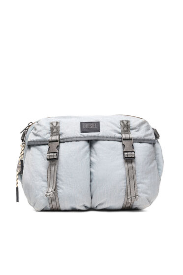 Convertible messenger in recycled nylon