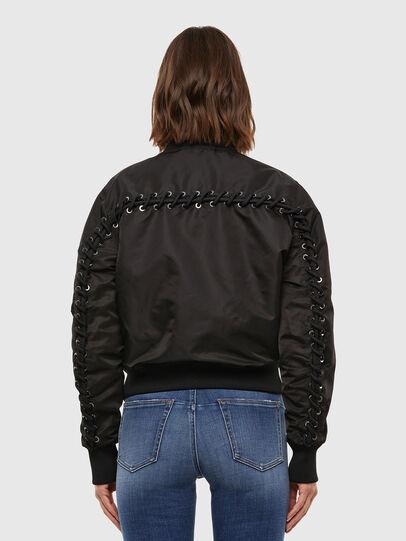 Diesel - W-SWING, Black - Winter Jackets - Image 2
