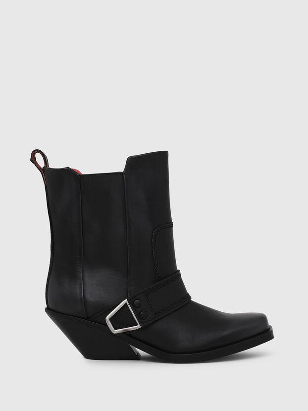 D-GIUDECCA MA, Black - Ankle Boots