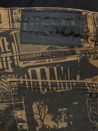 Diesel - D-Strukt Slim Jeans 009GB, Brown - Jeans - Image 4