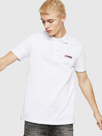 Diesel - T-WEET-DIV, White - Polos - Image 1
