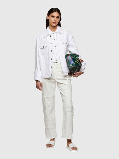 Diesel - D-Reggy Straight Jeans 009UL, White - Jeans - Image 6