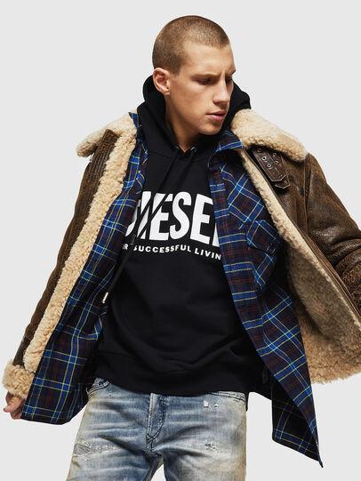 Diesel - S-TOLSTOJ, Blue - Shirts - Image 4