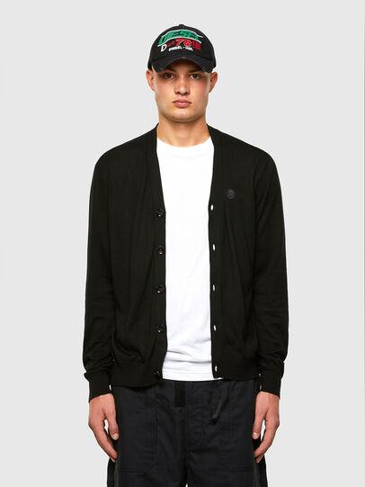 Diesel - K-JAMIE, Black - Sweaters - Image 4