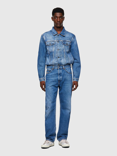 Diesel - D-Macs 009MG, Medium Blue - Jeans - Image 5