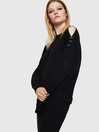 Diesel - M-MERS, Black - Sweaters - Image 5