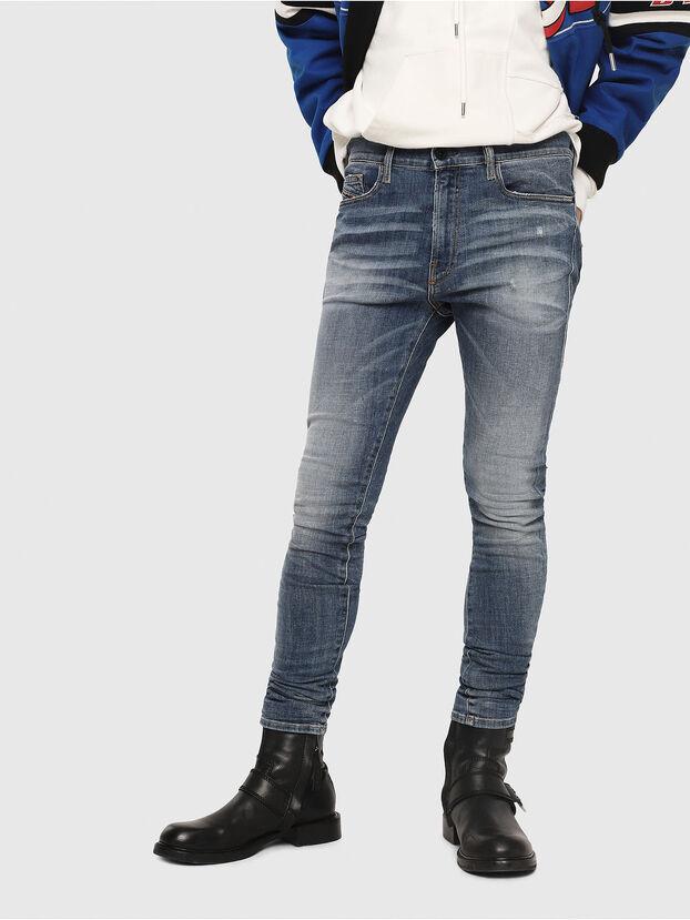 D-Amny 086AN, Medium Blue - Jeans
