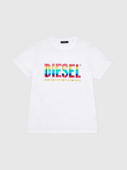 Diesel - BMOWT-DIEGO-NEW-P, White - T-Shirts - Image 1