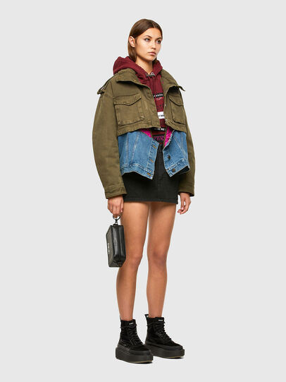 Diesel - G-CHRISTINA, Military Green - Jackets - Image 6