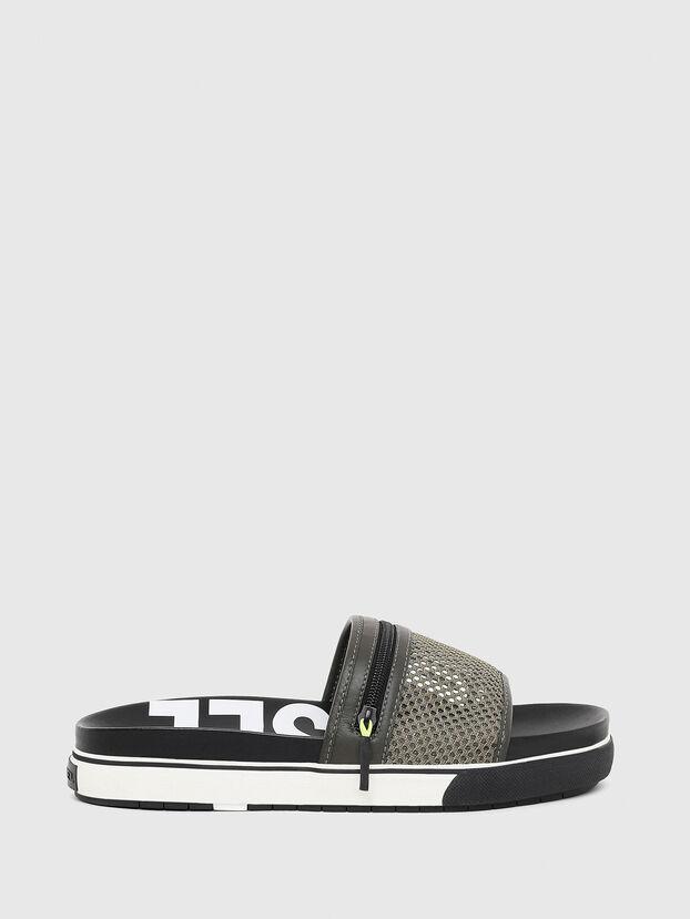 SA-GRANDZ, Green/Black - Slippers