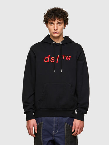 Green Label hoodie with DSL™ logo