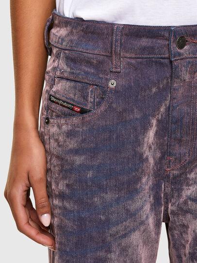 Diesel - Fayza 069RQ, Blue/Pink - Jeans - Image 3