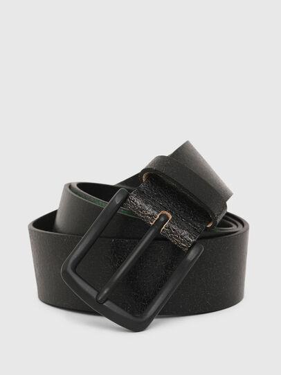 Diesel - B-SHADE, Black/Green - Belts - Image 2