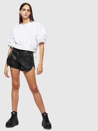 Diesel - F-MONDY, White - Sweatshirts - Image 6