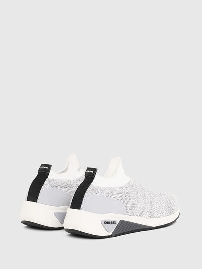 Diesel - S-KB ATHL SOCK W, Light Grey - Sneakers - Image 3