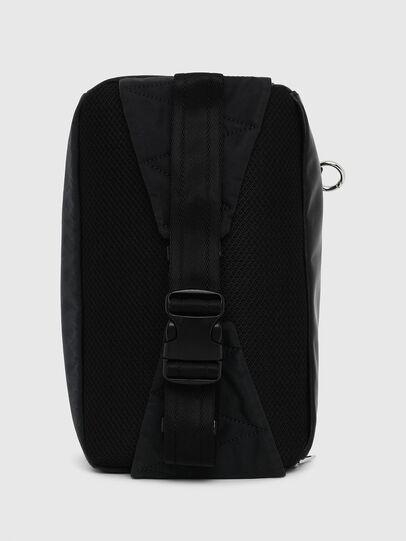 Diesel - FELTRE BIG, Black/Blue - Belt bags - Image 2