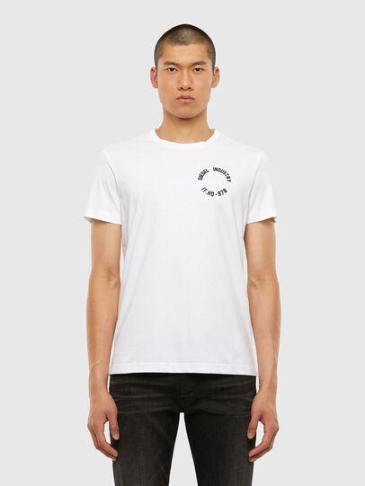 Diesel - T-DIEGOS-N26, White - T-Shirts - Image 1