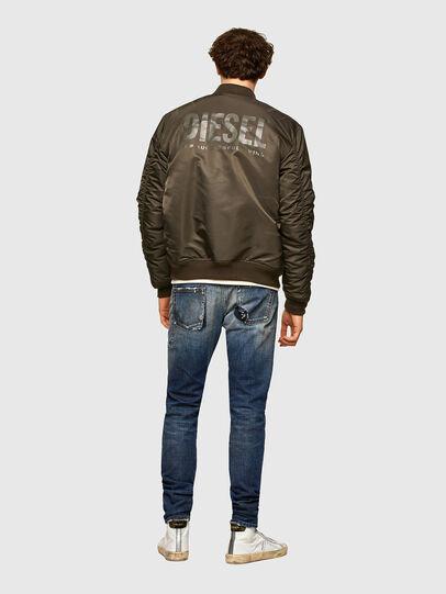 Diesel - D-Strukt Slim Jeans 009TX, Dark Blue - Jeans - Image 7